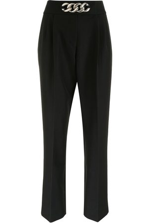 Alexander Wang Tapered trousers with chain-detailing