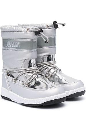 Moon Boot Wellingtons - Metallic snow boots