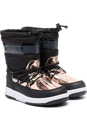 Moon Boot Metallic-panel snow boots