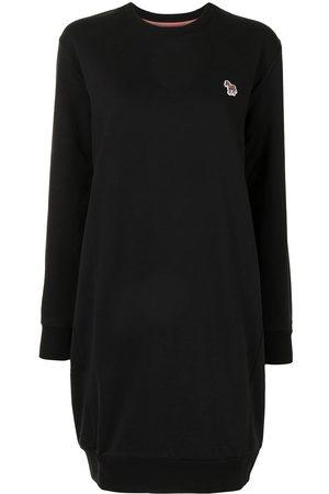 Paul Smith Animal-patch sweater dress