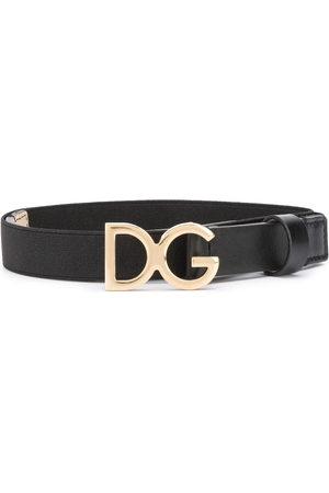 Dolce & Gabbana Boys Belts - Logo plaque belt