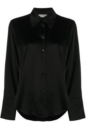 Nanushka Button-down satin shirt