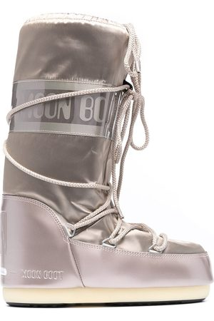 Moon Boot Icon satin snow boots