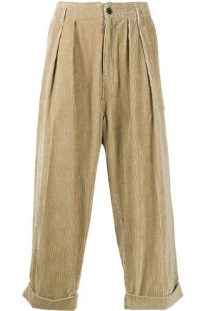 MACKINTOSH Cropped corduroy trousers