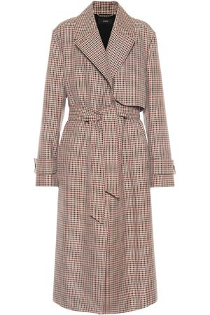 Joseph Chasa checked wool-blend trench coat