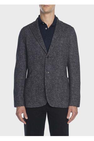 Circolo Mens CN2069 Soft Touch Tweed Jacket