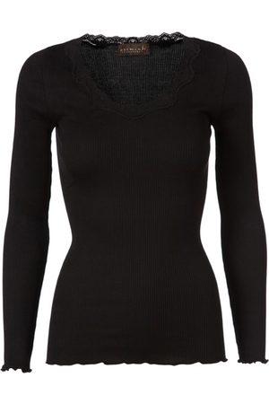 Rosemunde Babette Long Sleeve Silk Top