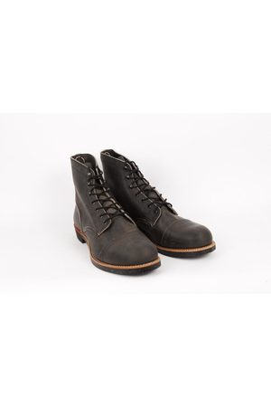 Red Wing Iron Ranger Boot 08086 - Charcoal
