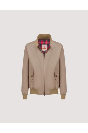 Baracuta G9 Harrington Jacket - Tan
