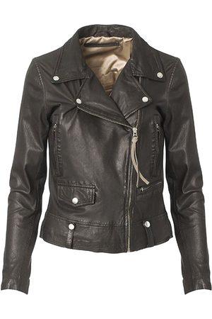 MDK / Munderingskompagniet Women Leather Jackets - Seattle New Thin Leather Jacket