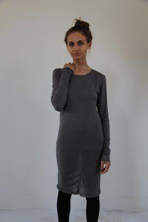 WINDOW DRESSING THE SOUL Charcol no print Dress