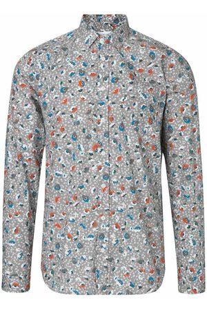 Libertine Libertine Lynch Light Grey w. Flower Shirt