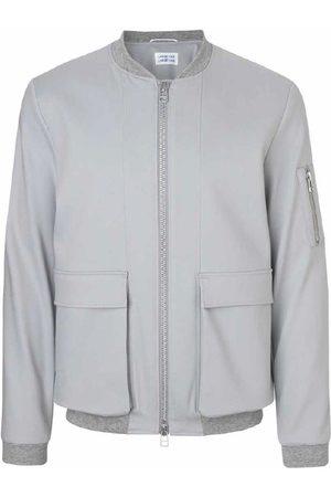 Libertine Libertine Men Jackets - Caution Jacket (Sky Grey)