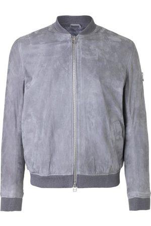 Libertine Libertine Men Leather Jackets - Fever Suede Jacket Grey