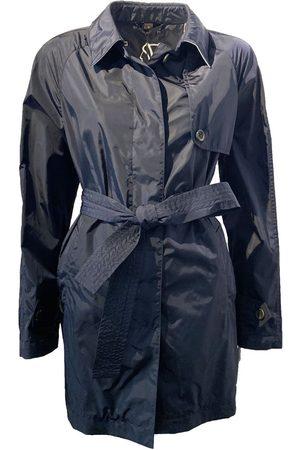 Sealup Women Trench Coats - Short Trenchcoat - Navy