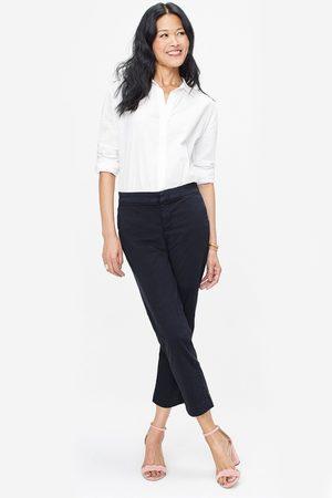 NYDJ Women Trousers - Dark Sateen Ankle Trouser