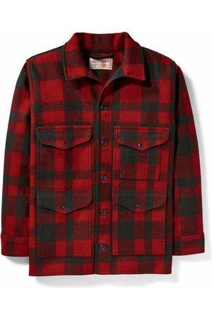 Filson Men Coats - Mackinaw Cruiser - /Red