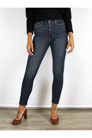 Dl 1961 Farrow High Waisted Skinny Jeans Dark
