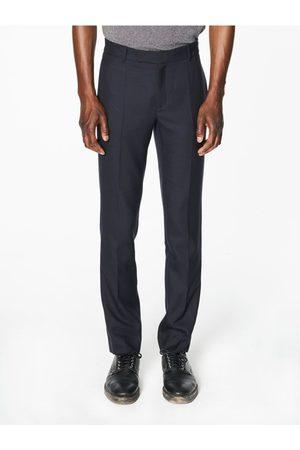 Capsul Men Formal Trousers - Pierre Navy Wool
