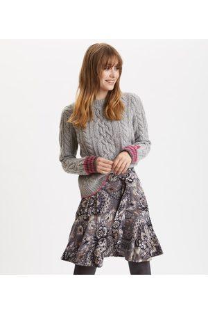 Odd Molly Head Turner Skirt in Asphalt