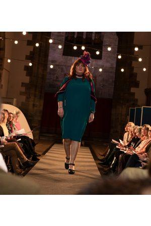 Roisin Linnane Women Tunic Dresses - Ivy Tunic Dress in Petrol