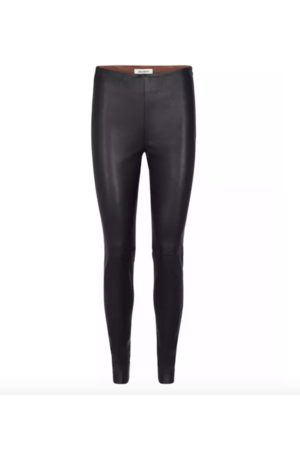 Mos Mosh Women Leather Trousers - Lucille Stretch Leather Legging