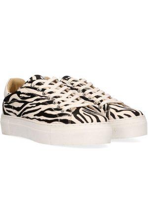 Maruti Ted Hairon Leather Black and White Zebra