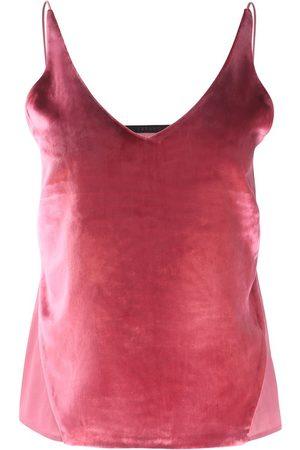 J Brand Women Vests - Lucy Vevet Cami Top