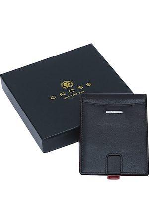 Cross Men Black Solid RFID Protected Leather Wallet