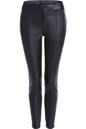 SET Women Leather Trousers - Set Vegan Leather Trousers