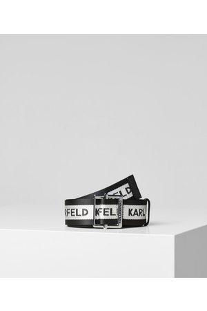 Karl Lagerfeld Cintura con Logo Karl