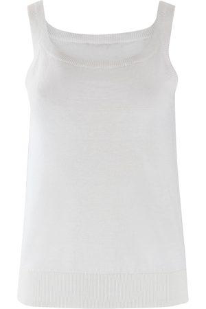 Max Mara Women Vests - Maxmara Studio Linen Knit Vest