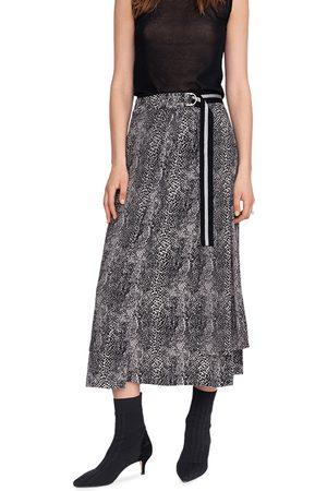 Riani Women Maxi Skirts - Animal Print Maxi Skirt
