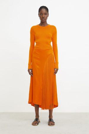 Rodebjer Women Skirts - Deniz Fringe Skirt