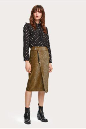 Scotch&Soda Women Skirts - Lurex Skirt - Olive