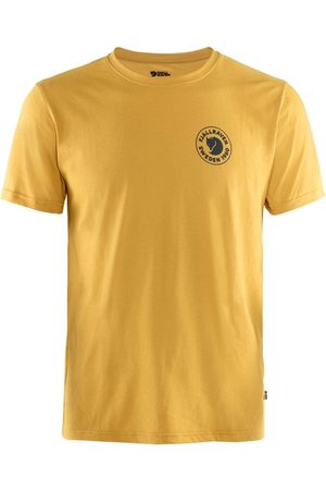 Fjällräven Men T-shirts - Fjallraven 1960 Logo Tee - Ochre Colour: Ochre