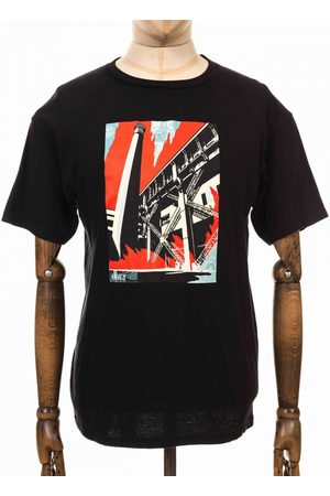 Obey Men T-shirts - Clothing Fossil Factory Basic Tee - Colour: