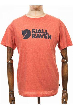 Fjällräven Men T-shirts - Fjallraven Logo Tee - Rowan Melange Colour: Rowan -Melange, Siz