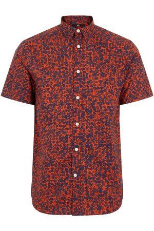 J Lindeberg Men T-shirts - J.Lindeberg Daniel SS-Seasonal Print Shirt