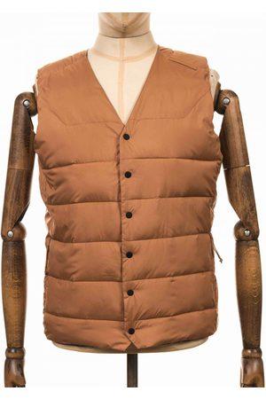 Didriksons Men Coats - Vidar USX Vest - Almond Colour: Almond