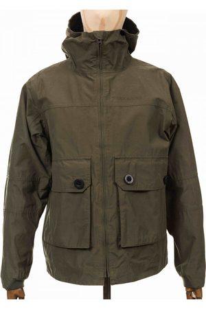Didriksons Men Jackets - Stellan USX Jacket - Dusty Olive Colour: Dusty Olive