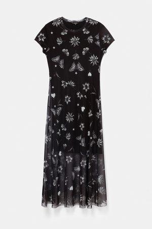 Desigual Austin Double Layer Tulle Dress