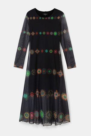 Desigual Kingston Double Layer Tulle Dress - Marino