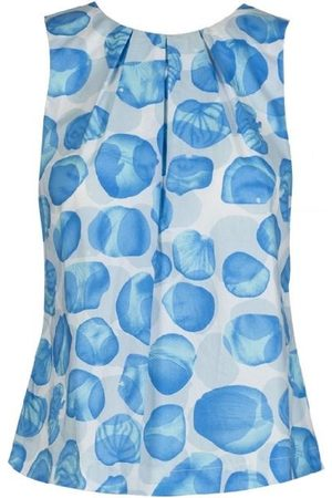 ANONYME Tunde Bubble Top - Sky - A220ST023