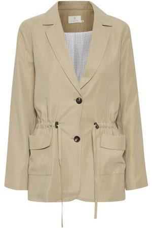 Kaffe Women Blazers - KAgustava Suit Blazer - Cobblestone