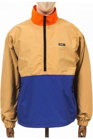 Obey Men Parkas - Clothing Tucker Anorak - Almond Multi Colour: Almond Multi