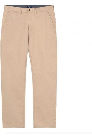 GANT Men Trousers - KHAKI REGCHINO30/32 Trouser: 30/32