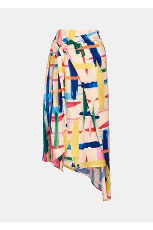 Essentiel Antwerp Vavocado Asymmetric Skirt - Combo 1 Off White