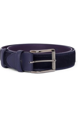 Elliot Rhodes Pony Hair Belt (Navy)