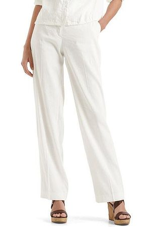 Marc Cain Women Stretch Trousers - Collections Stretch pants in linen blend NC 81.52 W47